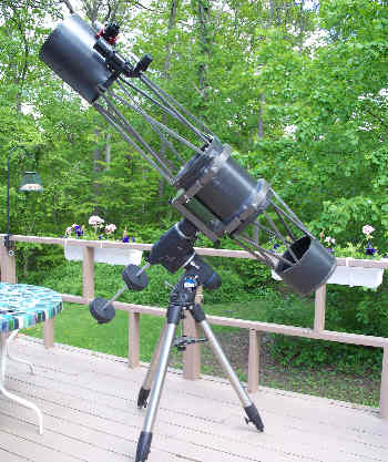 Building An 8 Inch F 8 Telescope